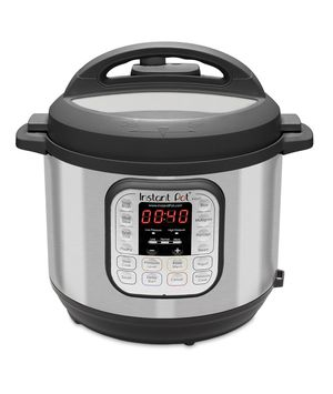 Instant Pot Duo 7-in-1 Electric Pressure Cooker, Slow Cooker, Rice Cooker, Steamer, Saute, Yogurt Maker, and Warmer, 6 Quart, 14 One-Touch Programs for Sale in Irving, TX