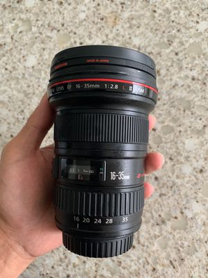Canon EF 16-35mm f/2.8L ll for Sale in Honolulu, HI