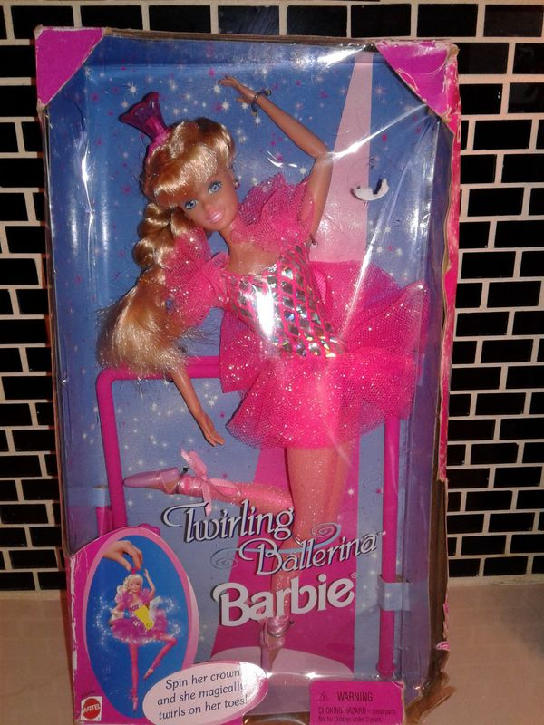 Rapunzel and Twirling Ballerina Barbies