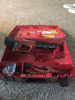 Hilti DX A41 Powder Actuated Nail Gun, Nailer/ Stapler, Stud Gun, Carry Case for Sale in Saint Charles, MO