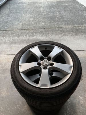 Mazda 17 Inch Wheels Rims OEM & Tires for Sale in Covington, WA