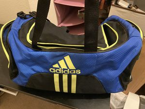 Adidas medium duffle gym bag men and women for Sale in Tomball, TX