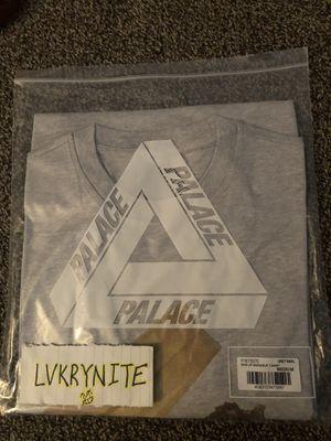 Palace Skin Up Monsieur T-Shirt Grey Marl for Sale in Las Vegas, NV