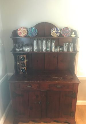 Antique Two Shelf Two Drawer Cabinet for Sale in Gaithersburg, MD