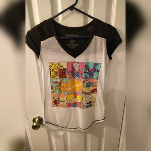 NWOT Hot Topic Nickelodeon Baseball Tee Juniors Size Small for Sale in Raleigh, NC