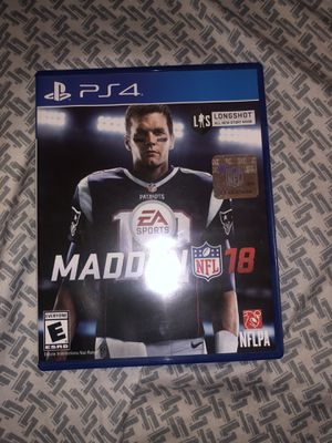 Madden 18 for Sale in San Diego, CA