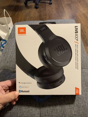 JBL Live 400BT Black Wireless Headphones for Sale in Ceres, CA