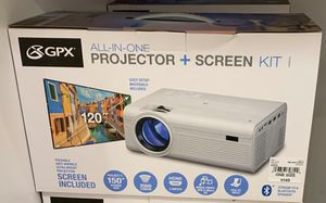 All in one projected screen kit gpx for Sale in Freeport, NY