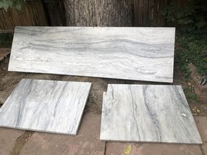 3 Dolemite /marble countertop slabs for Sale in Denver, CO