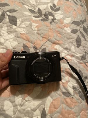 Canon Camera G7X iii for Sale in Houston, TX