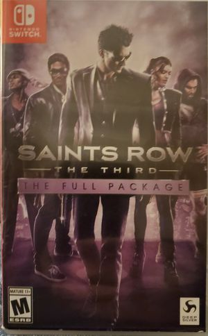 Nintendo Switch - Saints Row The Third: The Full Package for Sale in Apex, NC