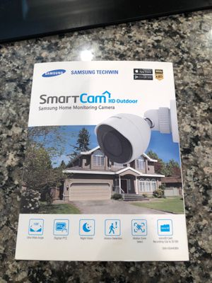 Samsung outdoor security camera Brand new for Sale in Trumbull, CT