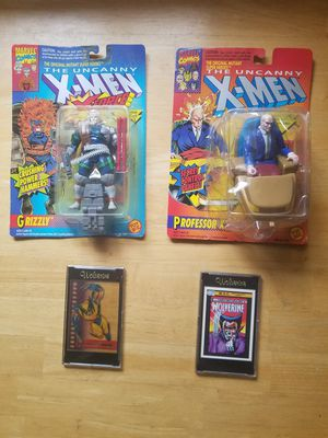 Xmen action figures and cards - all still sealed and never opened for Sale in Sarver, PA