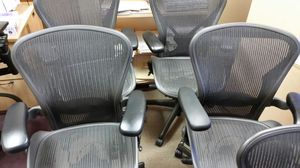 Herman Miller Aeron Office Chairs C and B for Sale in Scottsdale, AZ