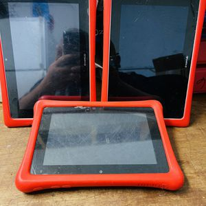 PARTS ONLY 3 NABI TABLETS for Sale in Waco, TX