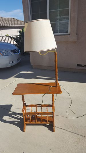 END TABLE WITH LAMP for Sale in Escondido, CA