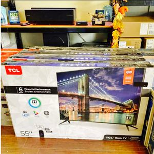 Tcl roku 55 inch 4K TV 6 series UHD 55r615 for Sale in Altadena, CA