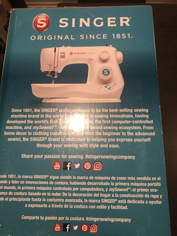 Singer 3337 Simple 29-Stitch Beginners Sewing Machine