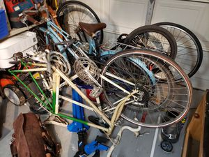 6 bicycles trade for snapon toolbox for Sale in Missouri City, TX