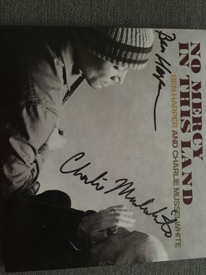 Ben Harper & Charlie Mussel White singed cd! Fair offers only for Sale in Saint Paul, MN