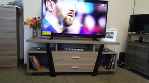Tv Stand, Dark Taupe and Black , SKU # 151310 for Sale in Norwalk, CA
