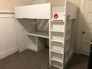 Loft bed/ desk combo. Great for saving space for Sale in Alameda, CA