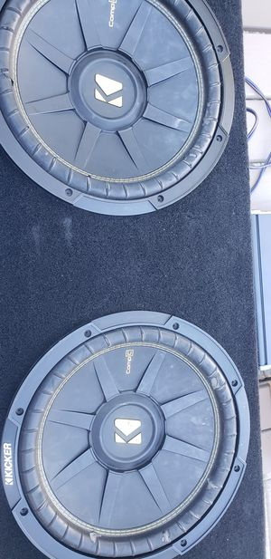 Car woofers and Amps for Sale in Upland, CA