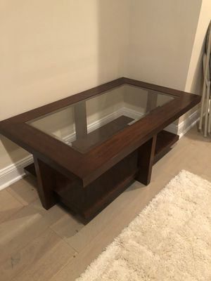 "Coffee table 50""L X 30""W X 19""H $55 for Sale in Annandale, VA"