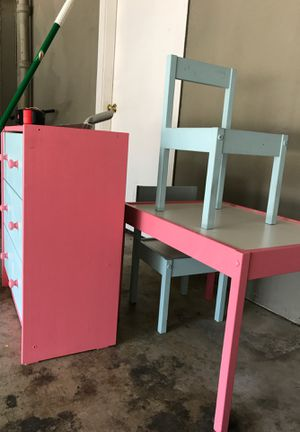 IKEA Kids Dresser and Table for Sale in Atherton, CA