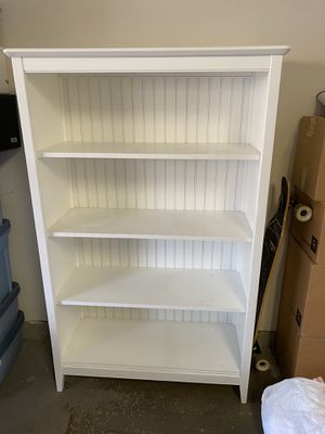 White bookcase for Sale in Scottsdale, AZ