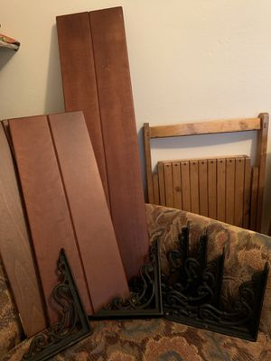 Pottery Barn Solid Wood Shelves for Sale in Seattle, WA