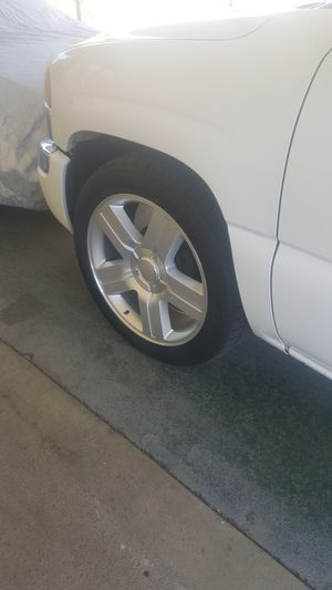 New Rims and tires 6lug new with papers work $1500 for Sale in El Monte, CA