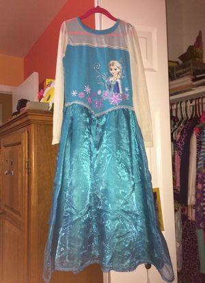 Frozen Elsa dress - size L for Sale in Annandale, VA