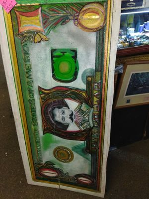 Pancho villa on one dollar bill for Sale in Amarillo, TX