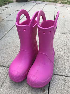 Crocs rain boots for Sale in Woodbridge, VA