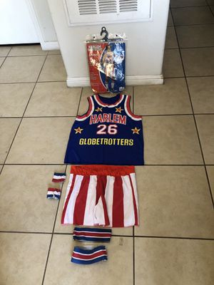 harlem globetrotters unifom ( adult one size fits most ) for Sale in North Las Vegas, NV