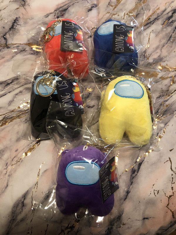AMONG US Keychains Plushies
