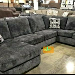 Oversized Sectional RAF LAF available $39 DOWN Payment Only for Sale in Elkridge, MD