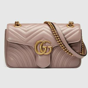 Gucci Marmont Purse (Pink) for Sale in Stone Mountain, GA
