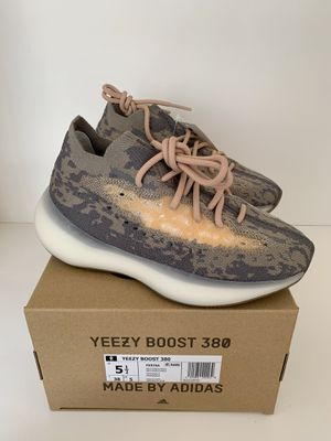 adidas Yeezy Boost 380 Mist Athletic Shoes Mens Size 5.5 Brown Tan Gray Non RF for Sale in San Diego, CA