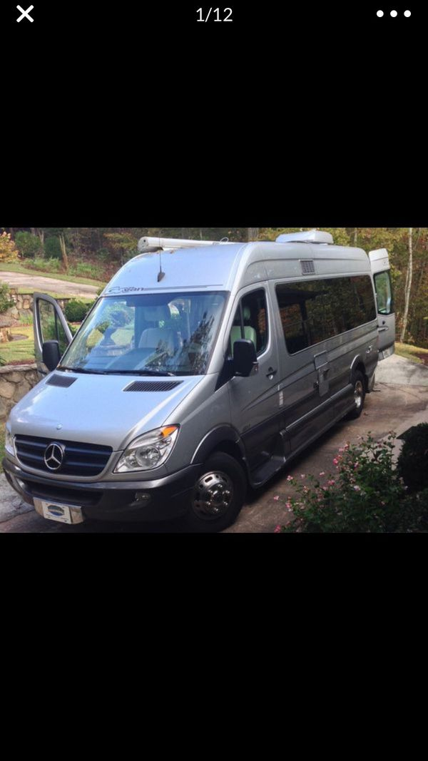 2012 Mercedes great vans sprinter rv