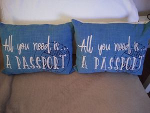 Small Throw Pillows $7 for Sale in Dulles, VA