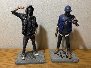 Watchdogs 2 statues Marcus and Wrench Collectible Figure for Sale in Corona, CA