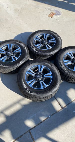 Brand new Toyota Tacoma wheels and tires rims for Sale in El Cajon, CA