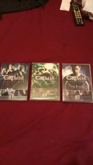 Grimm season 1-3 (DVD) for Sale in Comstock Park, MI