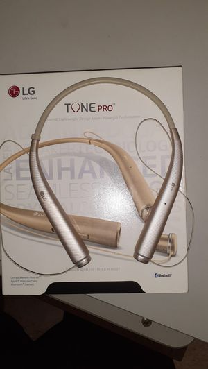 Lg Tone bluetooth headphones for Sale in Raleigh, NC