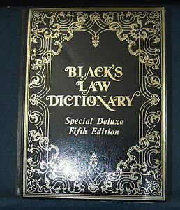 Blacks law dictionary special deluxe 5th edition for Sale in Sacramento, CA