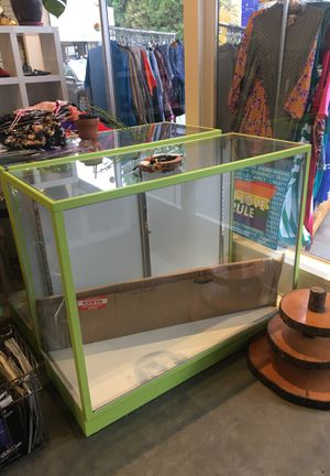 Free display cases! for Sale in Portland, OR