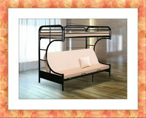 Twin futon bunkbed frame brand new free delivery for Sale in North Potomac, MD