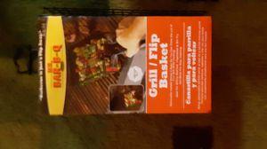 Mr. BAR-B-Q flip/grill basket for Sale in Walker, MN